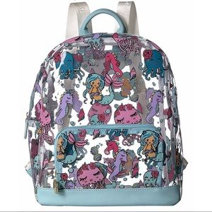 Betsey Johnson Clear Backpack 😍